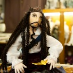 Johnny Depp Doll made by Vron Spencer