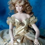 One of the beautiful dolls made by Vron