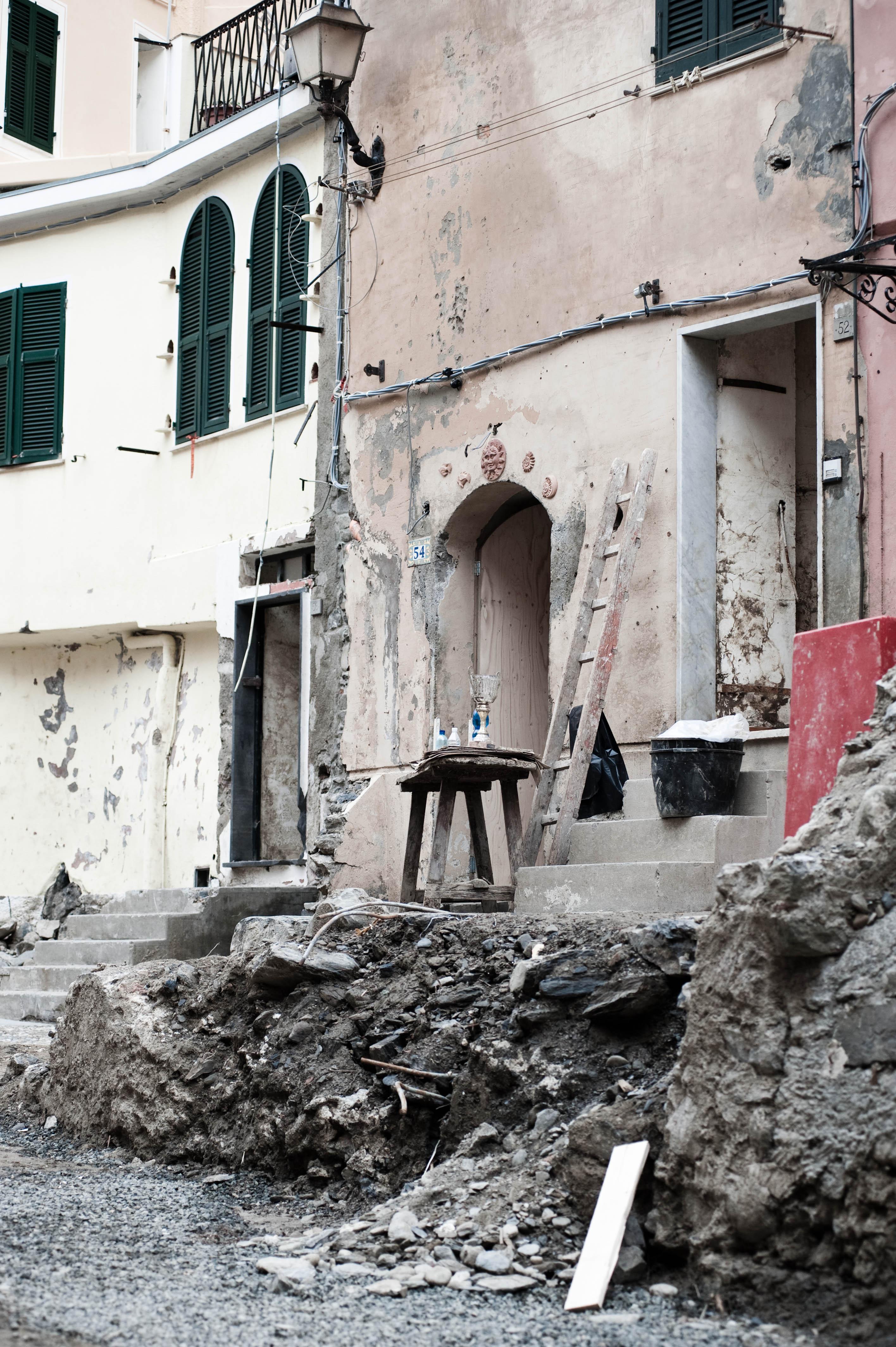 Vernazza Floods - 2 months later