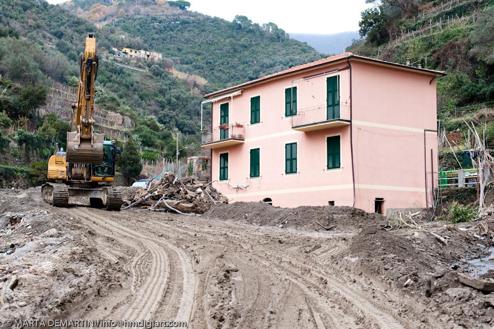 Vernazza Floods 2 months later