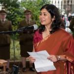 Noor Inayat Khan bust unveiling by Princess Anne