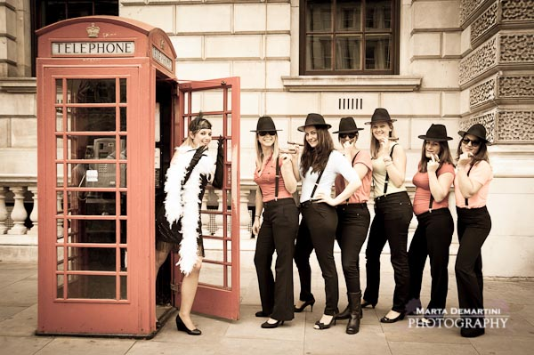 Hen Party London Photography