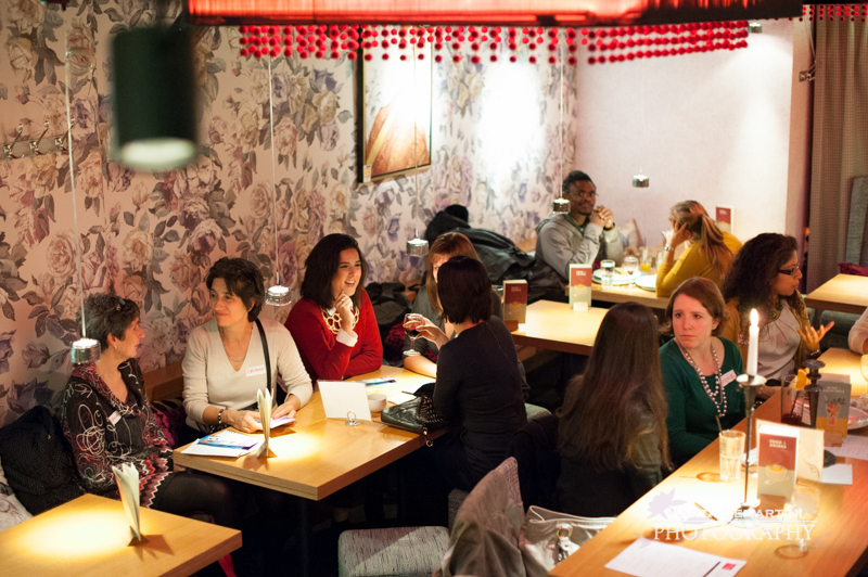 Round Table Meet Up @ Tibits by Lu Li 06/11/14