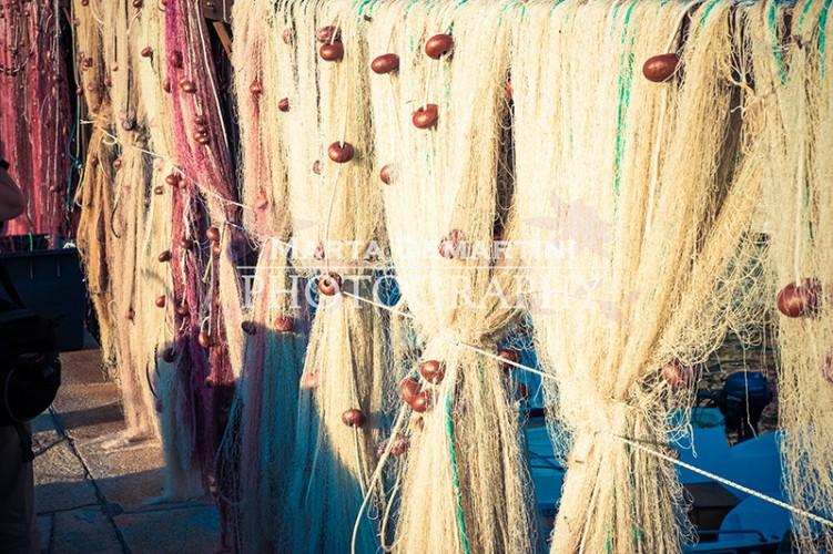 Camogli - Fishermen's nets